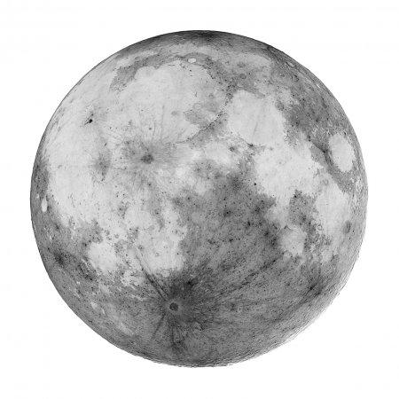 Полная темная Луна